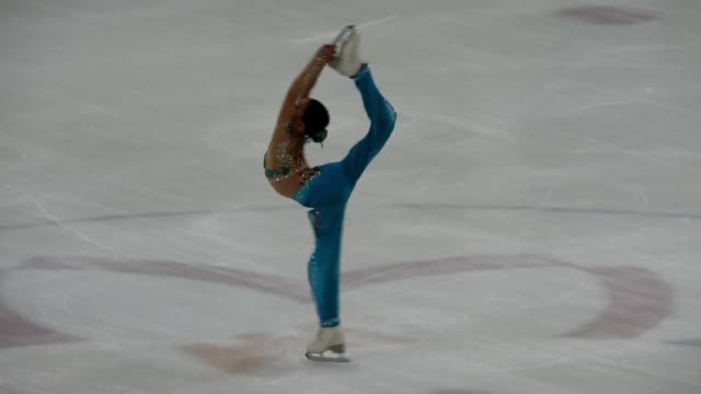 South Koreas 11 year old figure skating prodigy You Young has Olympic gold in her sights and with a tough six hours a day training regime shes...