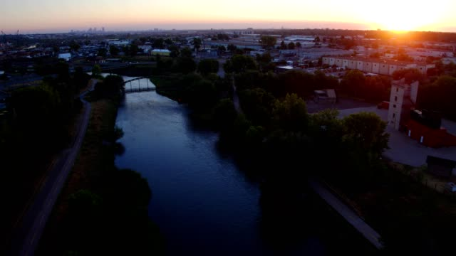 South Platte Denver Sunrise - Englewood, Colorado