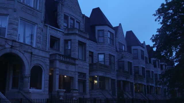 WS South Side greystone apartments night