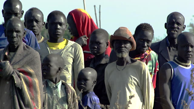 vídeos de stock, filmes e b-roll de south sudan : africans people - sudão