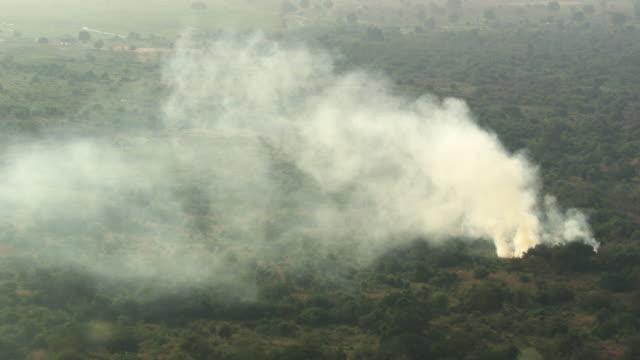 South Sudan :  Bush fire