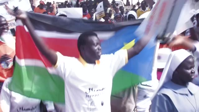 south sudan is set to go to the polls to decide whether or not to separate from the north in a referendum that begins on sunday khartoum sudan - independence stock videos & royalty-free footage