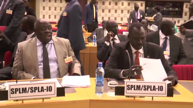 south sudan peace negotiation which is under the mediation of the intergovernmental authority on development kicks off, on august 06, 2015 in... - 2015 stock videos & royalty-free footage