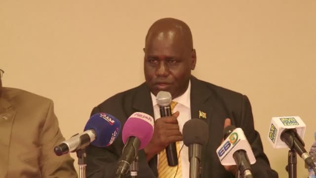 a south sudanese government committee says government soldiers committed attacks and rapes on civilians at the hotel terrain in the capital in juba... - compounding stock videos and b-roll footage