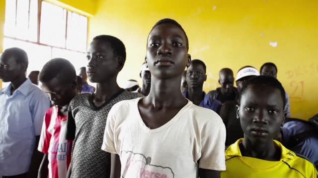 south sudan's civil war has raged on for the past three years with such viciousness that parts of the country are bereft of food and a third of the... - conflict stock videos & royalty-free footage