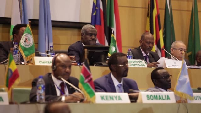 South Sudan's government and main armed groups sign a ceasefire agreement during peace talks in Ethiopia the latest push to end a devastating four...