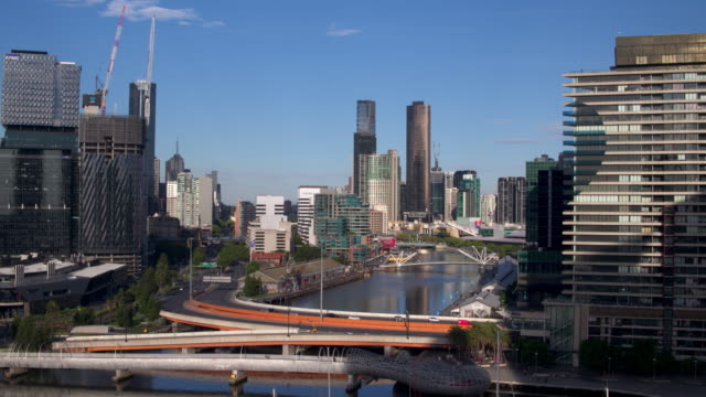 south wharf, melbourne, victoria, australia - south stock videos & royalty-free footage