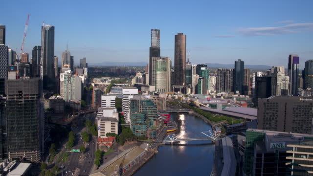 south wharf, melbourne, victoria, australia - downtown stock videos & royalty-free footage