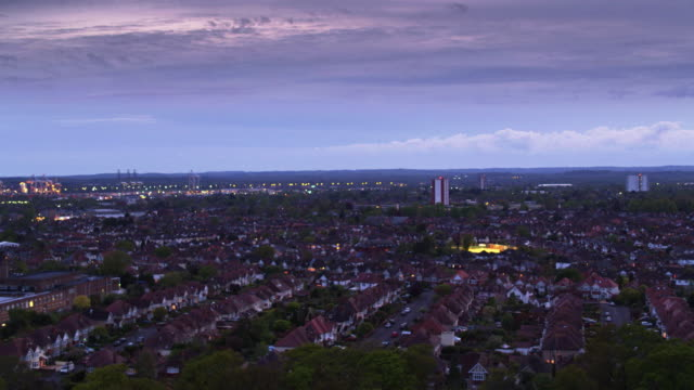 southampton at dusk - hampshire england stock videos & royalty-free footage