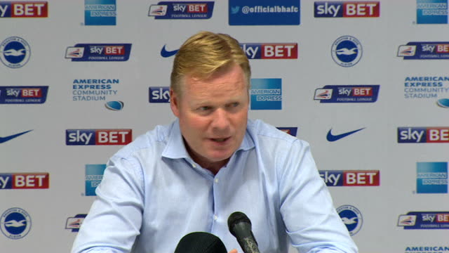 Southampton struggling to retain star players as new Premier League season approaches 3172014 INT Ronald Koeman press conference SOT