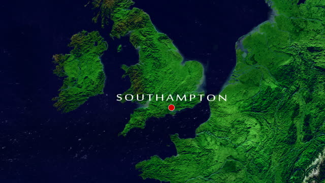 southampton zoom in - southampton england stock videos & royalty-free footage