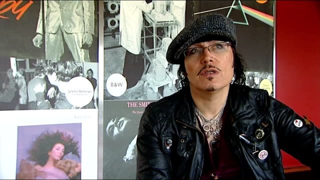 GVs and interviews Adam Ant interview SOT on Vintage festival and his pop music career