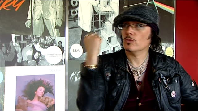 GVs and interviews Adam Ant interview continued SOT