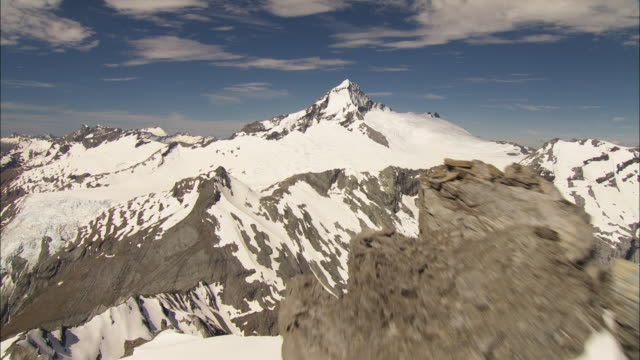 southern alps; mount. aspiring - new zealand southern alps stock videos & royalty-free footage