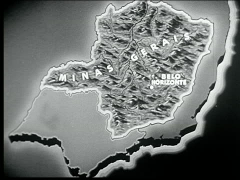 1940 southern brazil - belo horizonte stock videos and b-roll footage