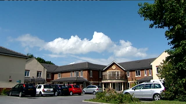 southern cross care homes: uncertainty for thousands of elderly residents following southern cross collapse; tx 11.7.2011 darlington: southern cross... - darlington nordostengland stock-videos und b-roll-filmmaterial