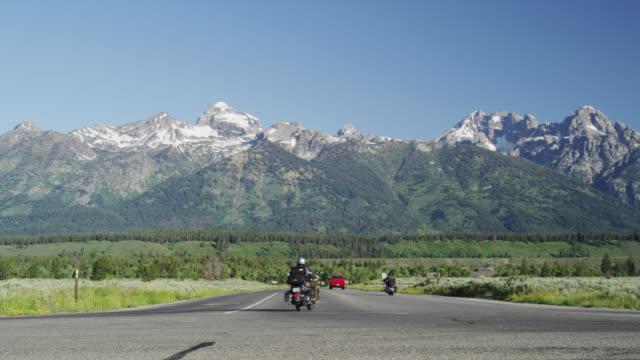 Southern Entrance to Grand Teton (Moose Junction), Grand Teton NP, USA