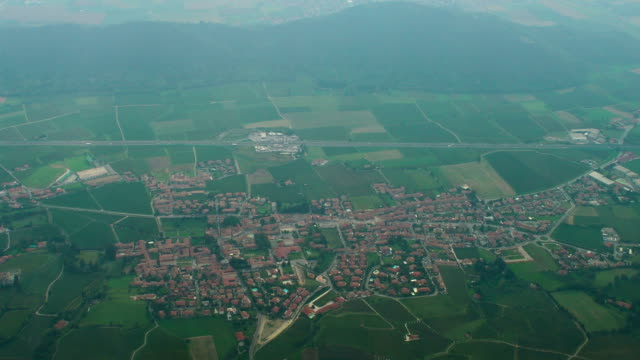 Southern Italy Aerial View, Erbusco Commune, Lombardy