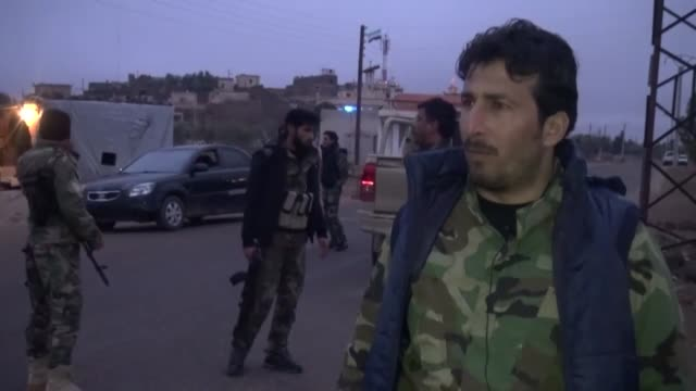 Southern Syria's Christian community is celebrating the Christmas holiday amid tight security provided by armed opposition fighters In oppositionheld...
