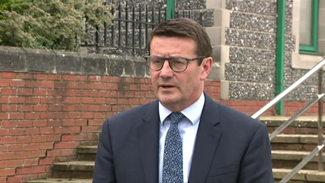 southern water chief executive ian mcaulay saying it was right for the company to be fined £90m for illegally dumping raw sewage into the sea - pouring stock videos & royalty-free footage