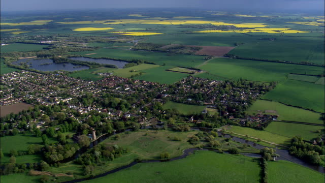 Southwell - luchtfoto - Engeland, Nottinghamshire, Newark en Sherwood District, Verenigd Koninkrijk