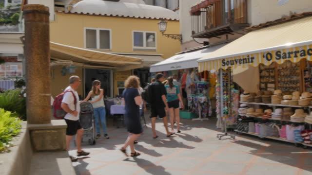 souvenirs, costiera amalfitana (amalfi coast), unesco world heritage site, province of salerno, campania, italy, europe - amalfi stock videos and b-roll footage