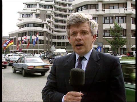 EC talks / UK communication NETHERLANDS The Hague Peter Allen i/c SOF and sign off