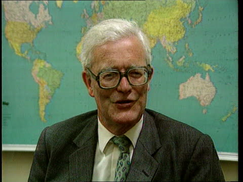 reax belguim brussels nato hq douglas hurd mp intvwd sof now been proved that you can't run the soviet union with the kgb the party and the army - union army stock videos & royalty-free footage