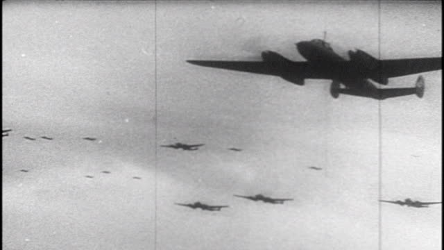 soviet film commemorating the victory at the battle of kursk - aereo militare video stock e b–roll