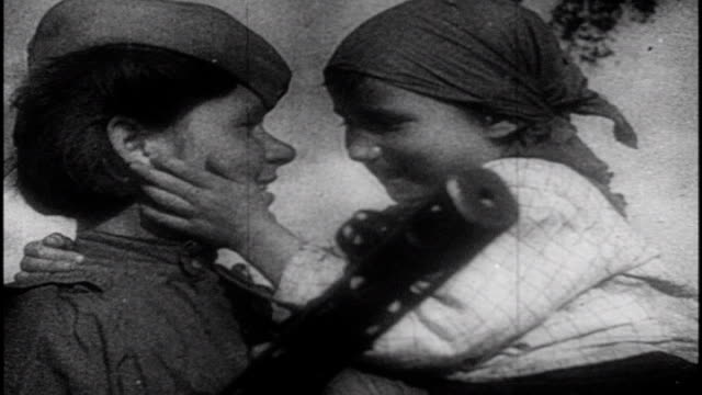 soviet film commemorating the victory at the battle of kursk. - soviet military stock videos & royalty-free footage