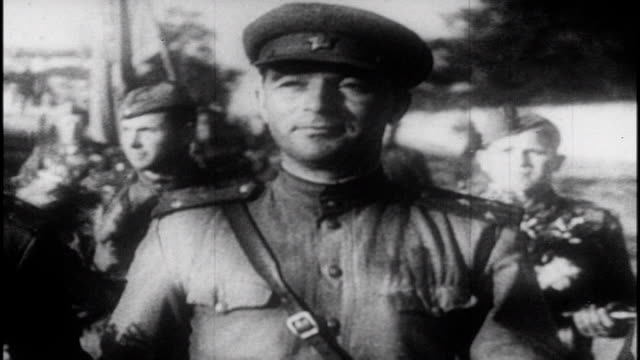soviet film commemorating the victory at the battle of kursk. - allied forces stock videos & royalty-free footage