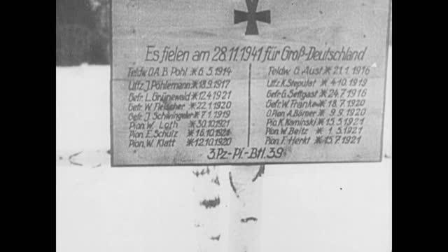 soviet forces in action/ german troops retreating/ german pows - 1942 stock videos & royalty-free footage