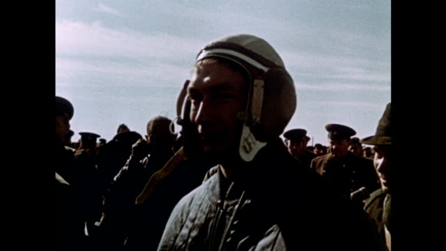 soviet spacecraft voskhod 1 is launched with a three-man crew - ehemalige sowjetunion stock-videos und b-roll-filmmaterial