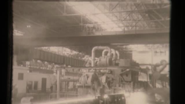 soviet steel foundry manufactures infrastructure materials - tidigare sovjetunionen bildbanksvideor och videomaterial från bakom kulisserna