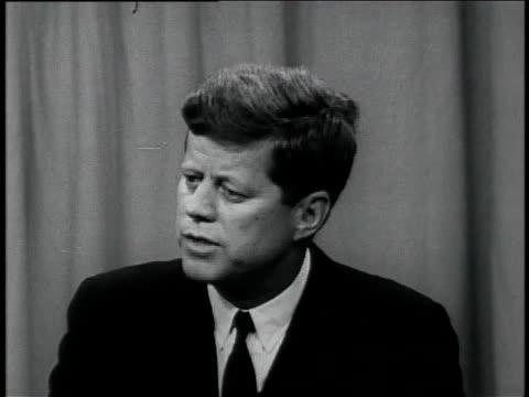 vidéos et rushes de soviet threat - john fitzgerald kennedy