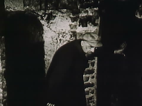 soviet time shots of underground cells in solovki prison camp left from tsar russia period - dungeon stock videos & royalty-free footage