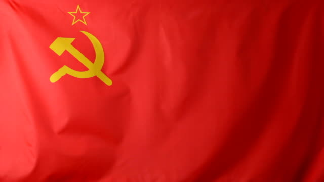 cu soviet union flag waving / berlin, germany - former ussr flag stock videos & royalty-free footage