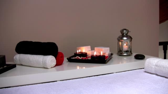 vidéos et rushes de matériaux de spa - spa treatment