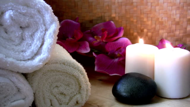 spa materials - lastone therapy stock videos and b-roll footage