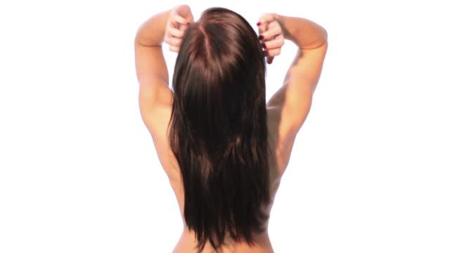 スパトリートメント - hair treatment点の映像素材/bロール