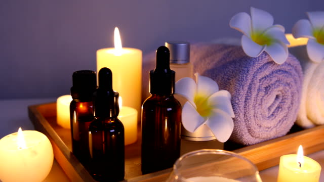 spa treatment - spa treatment stock videos & royalty-free footage