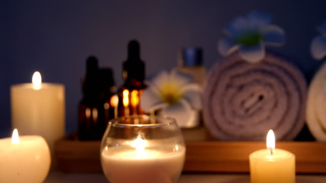 spa treatment - massage oil videos stock videos and b-roll footage