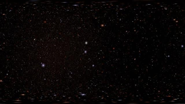 vídeos y material grabado en eventos de stock de 360 vr space 3003: virtual reality video flying through star fields in space - ubicaciones geográficas