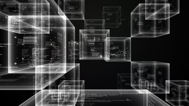 space cube - black
