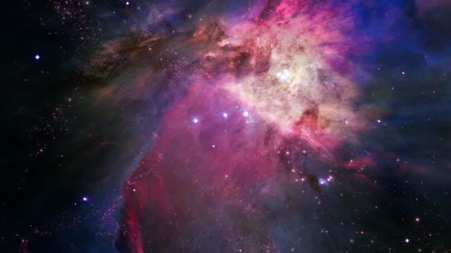Space journey to Orion's Belt (Loop).