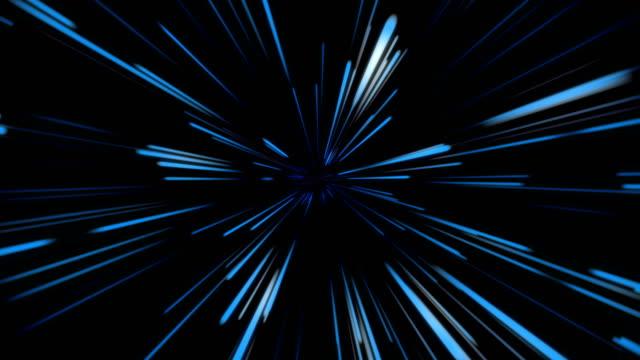 スペースジャンプ、宇宙空間、光速 - 無限点の映像素材/bロール