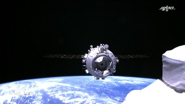 space - june 17, 2021 1. earth, viewed from tianhe core module of china's space station. 2. sunrise, sunset process. 3. various of spacecraft.... - space exploration stock videos & royalty-free footage