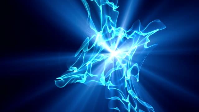 Raum Plasma-Blau nahtlose