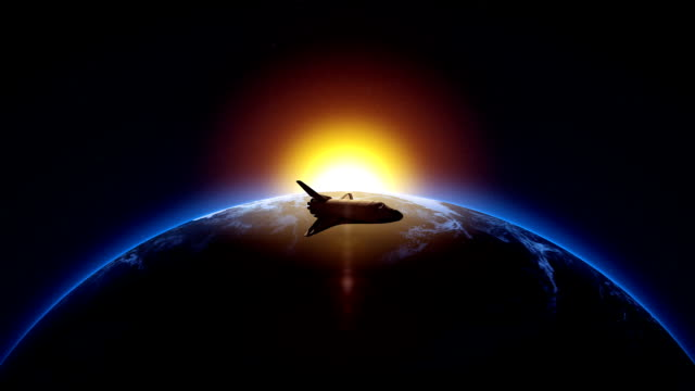 space shuttle animation - space exploration stock videos & royalty-free footage