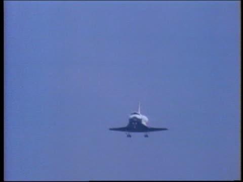 space shuttle atlantis landing - atlantis stock videos and b-roll footage